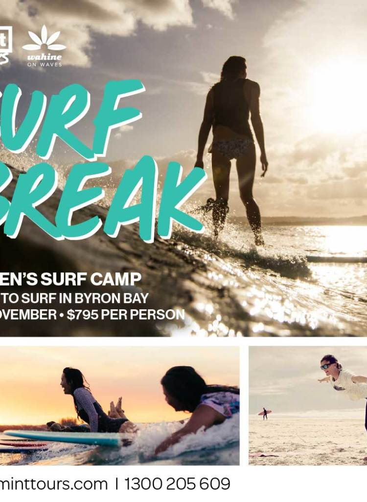 Surf Break Women's Surf Camp
