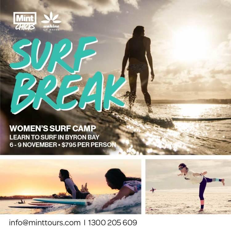 Surf Break Women's Surf Camp