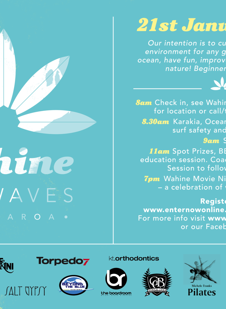 Wahine on Waves 21st January 2015 Gisborne New Zealand