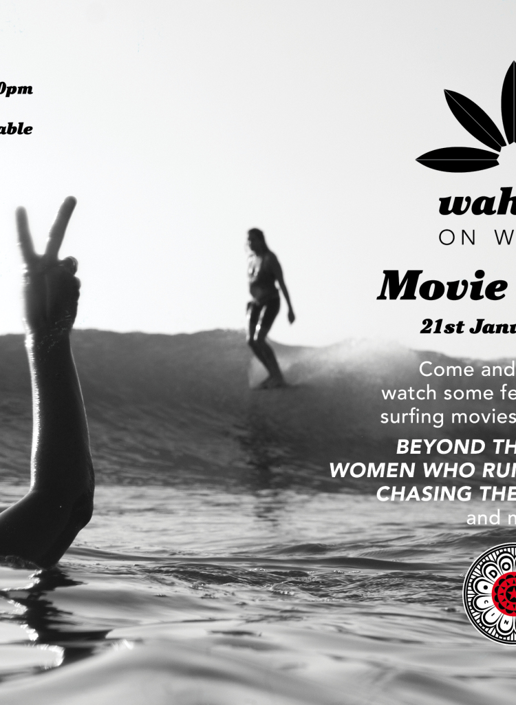 Dome Cinema & Wahine on Waves Movie night in Gisborne – New Zealand