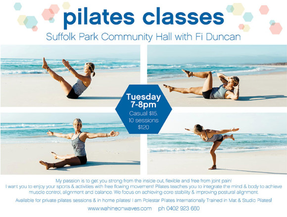 Pilates Classes in Suffolk Park Byron Bay